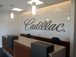 Cadillac Service area