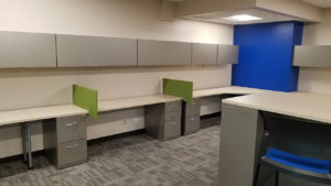 Corporate office space at Rotex