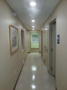Hallway at Rotex Healthcare