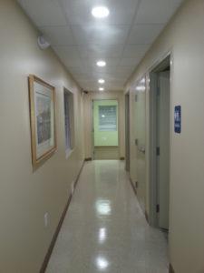 Hallway at Rotex Healthcare