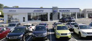 Outside picture of Joseph Subaru with cars