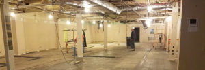 Inside construction at BrightView